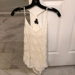 Trouve cream top from Nordstrom